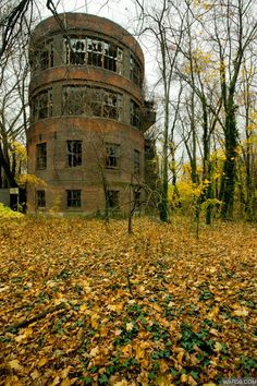 ''North Brother Island Quarantine Zone, New York: quarantine zone, leper colony and centre for drug addicts. Just 350 yards from the crowded tenements of the Bronx, North Brother Island was first employed as a quarantine centre in 1885. Closed in 1963, it is now a haunting labyrinth of crumbling ruins.''