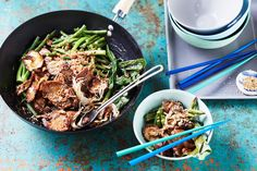 This pork stir-fry is tasty, quick and easy, making it the perfect midweek comfort meal.