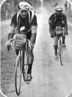 Tour de France, Octave Lapize rode professionally 1908 to 1914.  (Died in WWI - Plane shot down in 1917 - died of injuries)