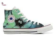 Converse Customized Chaussures Personnalisé et imprimés UNISEX (produit artisanal) chauve-souris - size EU40 - Chaussures mys (*Partner-Link)
