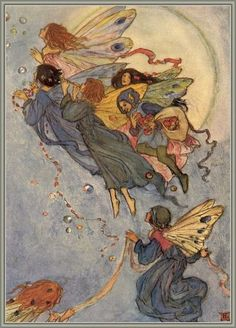 Florence Harrison (1877–1955) was an Art Nouveau and Pre-Raphaelite illustrator of poetry and children's books. Many of her books w