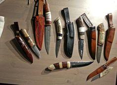 några knivar jag tillverkat
