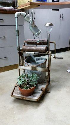 Mop Bucket Fountain