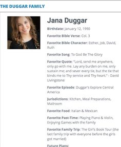 Jana Duggar Family Show, Big Family, Extended Family, Favorite Bible Verses, Favorite Quotes, Jana Marie Duggar, Duggar Girls, Jeremy Vuolo, Dugger Family