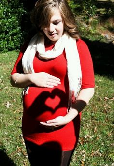 Somehow my maternity pic ended up on Pinterest! Amy Jo Photography is amazing!!