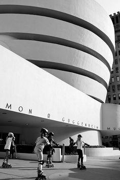 Guggenheim Museum, New York, Frank Lloyd Wright