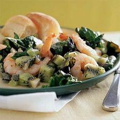Shrimp and Kiwi Salad | MyRecipes.com