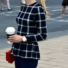 Plaid is one of our all-time favorite prints!