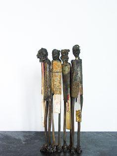 More metal sculptures, at www.byjohan.se