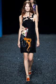 Mary Katrantzou Spring 2015 Ready-to-Wear Fashion Show - Irina Kravchenko