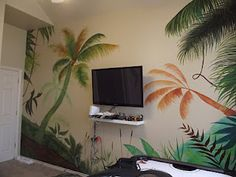 Mural for kids playroom, hand painted   maryhowe40@hotmail.com for murals. Murals For Kids, Nursery Ideas, Playroom, Hand Painted, Wallpapers, Inspiration, Biblical Inspiration, Game Room Kids, Nursery Room Ideas