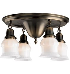 Mt. Tabor Colonial Revival Flush Ceiling Pan