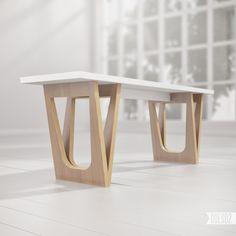 Bench B2 by ODESD2. Designer: Svyatoslav Zbroy.