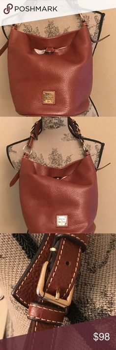 Used but like new, pebble leather You will love this bag I probably used it 3 times at the most Dooney & Bourke Bags Satchels