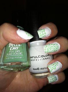 Winter Pastel  nails, nail stamp art, konad, bundlemonster