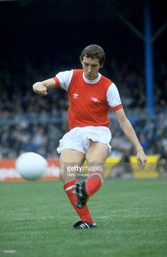 Sammy Nelson of Arsenal in action during a match Mandatory Credit Allsport UK /Allsport