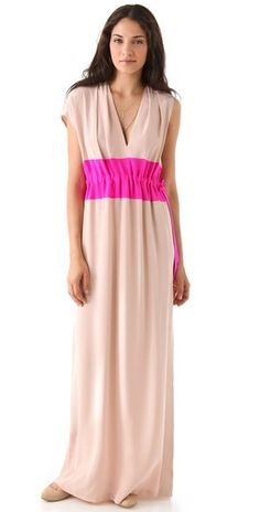 (Limited Supply) Click Image Above: Thakoon Drawstring Waist Gown