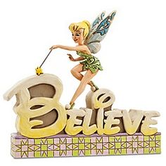 ''Believe'' Tinker Bell Figurine by Jim Shore