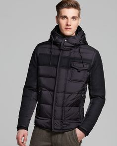 Moncler Ryan Hooded Down Jacket Men - Bloomingdale s 6da1ee1bda6