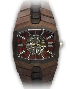 746 Series Mechanical Wooden Watch by JORD (St. Louis company!)