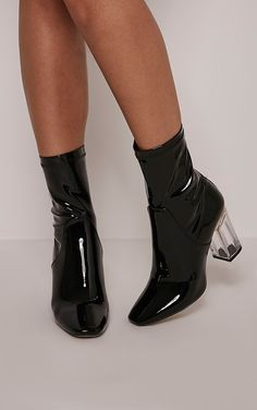 Pretty Little Thing Patent Boots- As soon as the Christian Dior Vinyl look boots hit the runway in AW15 , if i'm correct... they caused a storm. A perfect example of the modern twist Raf Simmons lent to Dior during his time. In my opinion this copy cat is overdone and i'm over it.