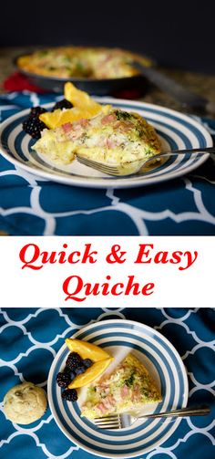Quick and Easy Quiche Recipe