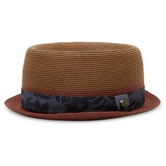00fe70b30b2 Ted Baker Teapart Straw Hat ( 65) ❤ liked on Polyvore featuring men s  fashion
