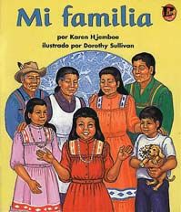 Mi familia Cover. A Cherokee girl learns traditional skills and customs from the members of her family. #BebopBooks