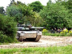 AMX Leclerc main battle tank during public demonstration