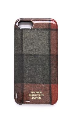 Flannel iPhone case