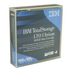 10 Pack IBM LTO Ultrium-4 Data Tape ( IBM 95P4436 - 800/1.6TB ) by IBM. $260.00. When IBM 95P4436 LTO-4 tapes were first introduced, they doubled the storage of their predecessor. IBM LTO-4 Ultrium tapes also introduced encryption, giving your data an additional layer of protection as it transfers from your servers to your backup tapes. IBM 's LTO-4 tapes can store up to 1.6 TB on each tape when compressed, meaning you'll be able to complete backups with less tape changes, ...