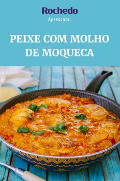 Receita de uma panela só com peixe com molho de moqueca –uma delícia para os fãs da gastronomia brasileira