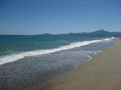 Beach at St Cyprien France