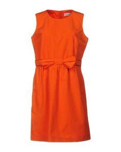 RED VALENTINO Короткое Платье. #redvalentino #cloth #dress #top #skirt #pant #coat #jacket #jecket #beachwear #