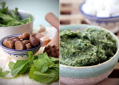Chestnut-Herb Pesto
