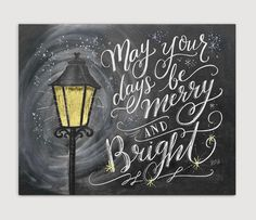 Even on a dark winter's night, the sparkle and shine of twinkle lights decorating the streets will make you feel cheerful and bright. Bring those feelings inside your home with this Dickens-inspired c