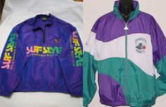 Neon windbreakers were like magic capes. You threw one on and you were instantly the coolest guy in school. This trend was hot among every kind of kid, too. And the brighter, the better.