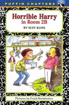 Horrible Harry by Suzy Kline, July 2016 Bookmark: Series for Kids moving on from Beginning Readers, Sandy Courtney, Youth Services Librarian