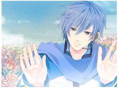 Vocaloid Kaito, Kaito Shion, Merlin, Anime Characters, Artist, Pictures, Blue Hair, Cute Anime Guys, Boyfriend