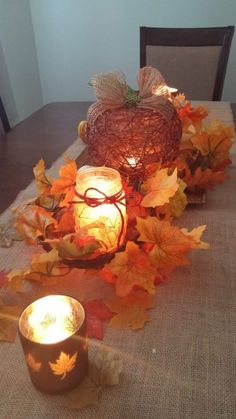 Looking for a neat and frugal craft to make for the holidays? Try out this Illuminated Twine Pumpkin!