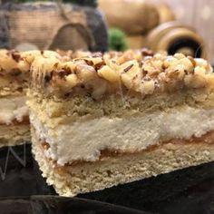Cake Bars, Dessert Recipes, Food, Caramel, Essen, Meals, Desert Recipes, Yemek, Pastries Recipes