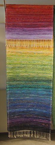 Foto Rose-Marie Lundberg Edström Rug Inspiration, Rose Marie, Rag Rugs, Heart Crafts, Tear, Weaving Patterns, Recycled Fabric, Woven Rug, Rug Making
