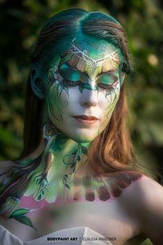 Airbrush Makeup, Eye Makeup, Maquillage Halloween, Halloween Face Makeup, Disco Makeup, Ethereal Makeup, Makeup Course, Alien Art, Fairy Makeup