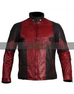 Deal Pool Ryan Reynolds Maroon Celebrity leather jacket costume