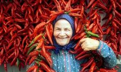 Famous Paprika of Szeged. Red Hot Chilli Peppers, birth place of my paternal grandmother. Hungarian Cuisine, European Cuisine, Croatian Recipes, Hungarian Recipes, German Recipes, Hungary Food, Foto Picture, Paprika Pepper, Red Spice