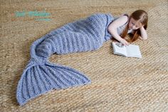 (4) Name: 'Crocheting : Mermaid Tail Blanket - Crochet