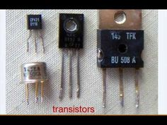 Picture of Important Step: Transistors Electronics Components, Diy Electronics, Guitar Effects Pedals, Guitar Pedals, Guitar Distortion Pedal, Joule Thief, Electrolytic Capacitor, Usb Gadgets, Easy Guitar