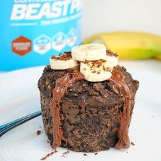 Healthy Dinner Sides, Healthy Side Dishes, Protein Oatmeal, Baked Oatmeal, Chocolate Protein Powder, Dark Chocolate Chips, Healthy Living Recipes, Chocolate Shavings, Unsweetened Cocoa