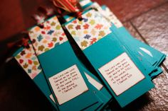 Cute, totally customizable scripture (or any other quote, etc you want) bookmarks.