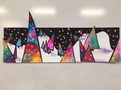 Art Projects For Adults, Toddler Art Projects, Easy Projects, Christmas Art Projects, Winter Art Projects, Summer Art, Summer Kids, Preschool Art, 4th Grade Art